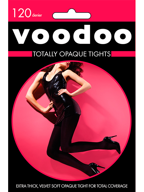 Voodoo 120-DENIER-TOTALLY-OPAQUE-TIGHT