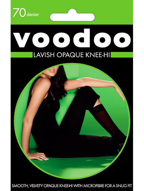 Voodoo 70 Denier Lavish Knee Hi