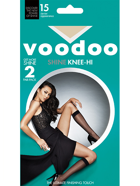 Voodoo SHINE KNEE HIS – 2 PACK